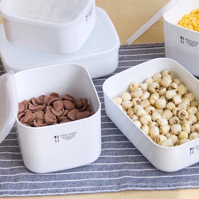 Hộp đựng thực phẩm White pack Nhật Bản các loại