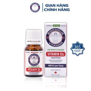 [CHÍNH HÃNG] Vitamin D3 BioAmicus 400IU giọt thumbnail