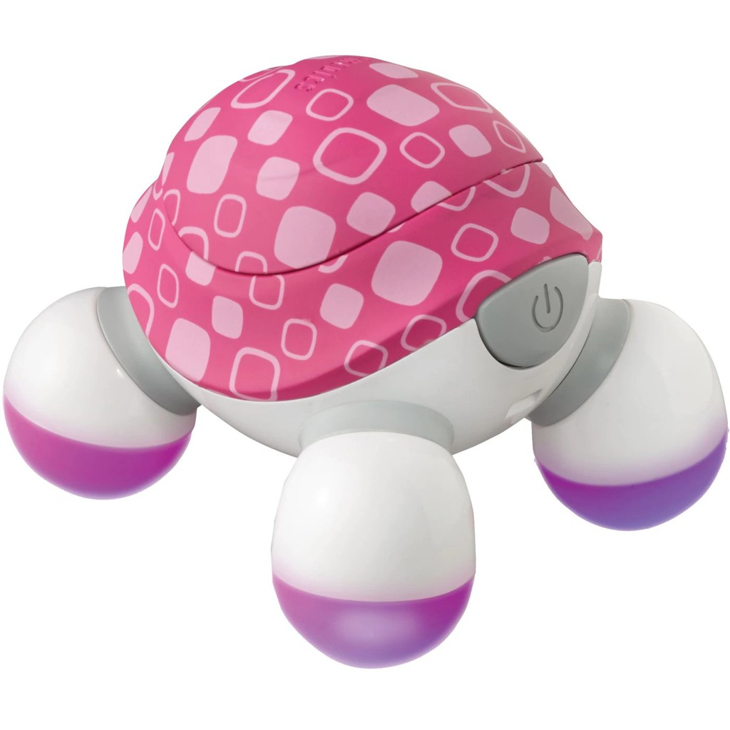 Máy massage cầm tay mini Turtle 3 đầu Homedics NOV-60