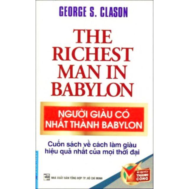 Sách Người giàu có nhất thành babylon