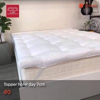 Đệm Topper Hotel 7CM