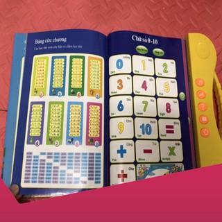 [Giảm 9k cho đơn từ 99k] Set 2 quyển sách nói song ngữ cho bé .