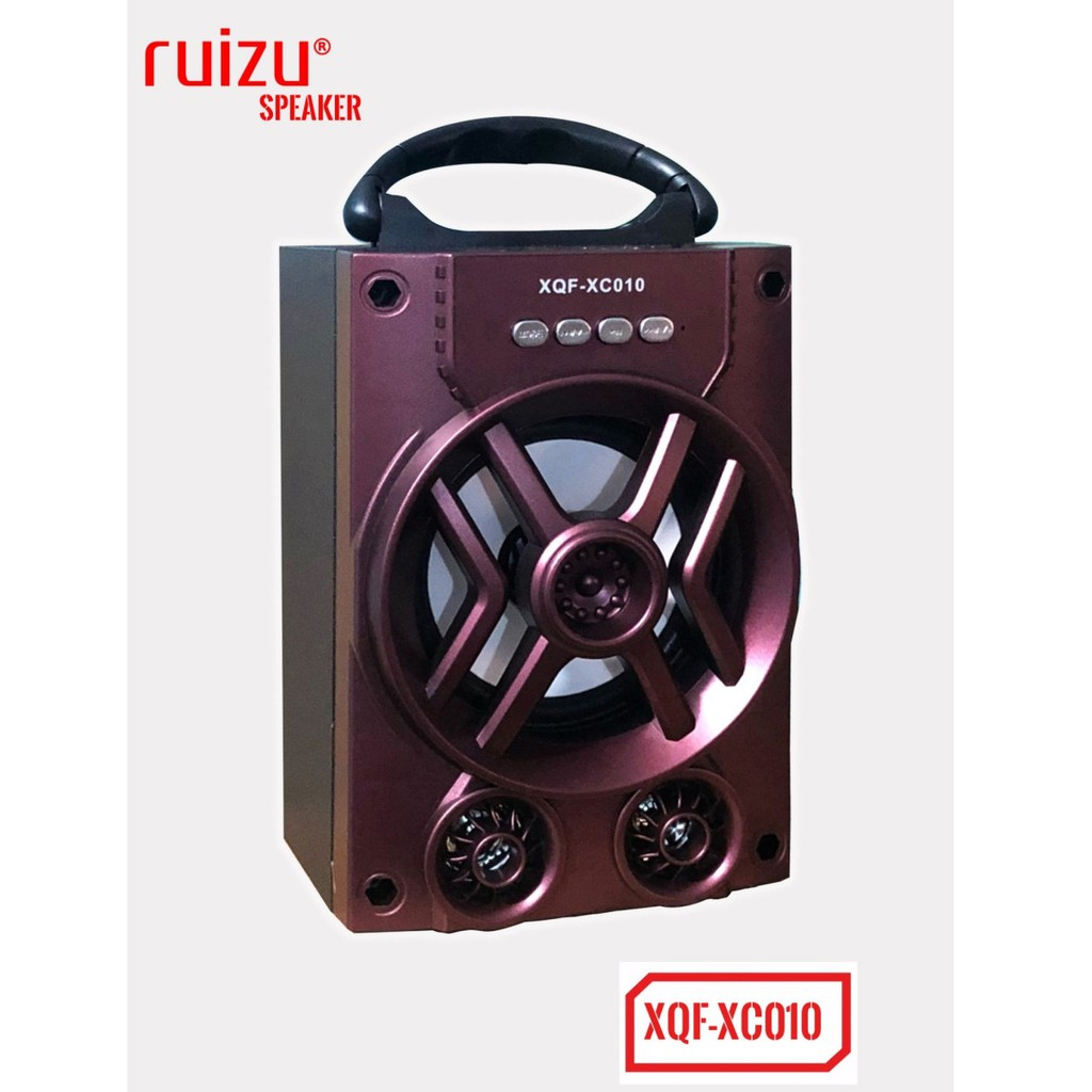 Loa bluetooth mini xách tay Ruizu XQF-XC010 - có đèn Led (Đỏ) - Hãng phân phối chính thức - 2539722 , 722176578 , 322_722176578 , 186000 , Loa-bluetooth-mini-xach-tay-Ruizu-XQF-XC010-co-den-Led-Do-Hang-phan-phoi-chinh-thuc-322_722176578 , shopee.vn , Loa bluetooth mini xách tay Ruizu XQF-XC010 - có đèn Led (Đỏ) - Hãng phân phối chính thức