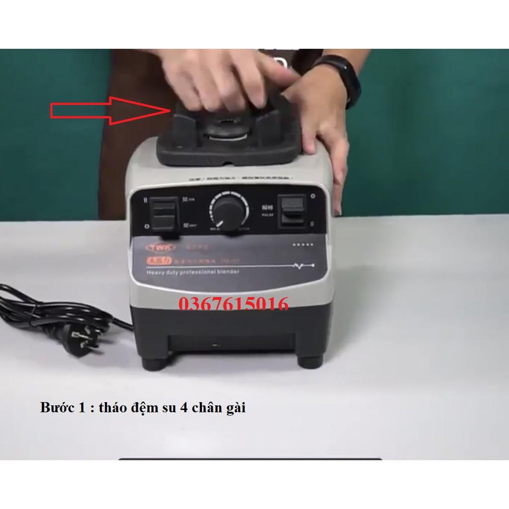 Socket (nhông/trục nấm) máy xay sinh tố công nghiệp JTC Omniblend
