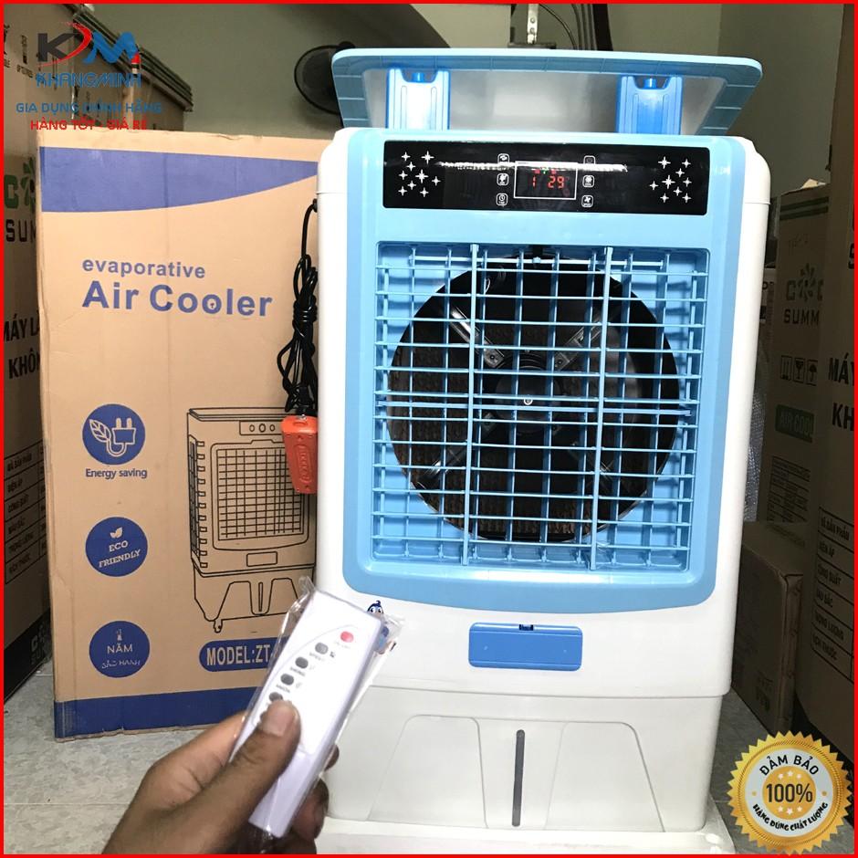 Bảo hành 24 Tháng Quạt điều hòa quạt hơi nước ZT800 bình 60 lít 200W model  2020