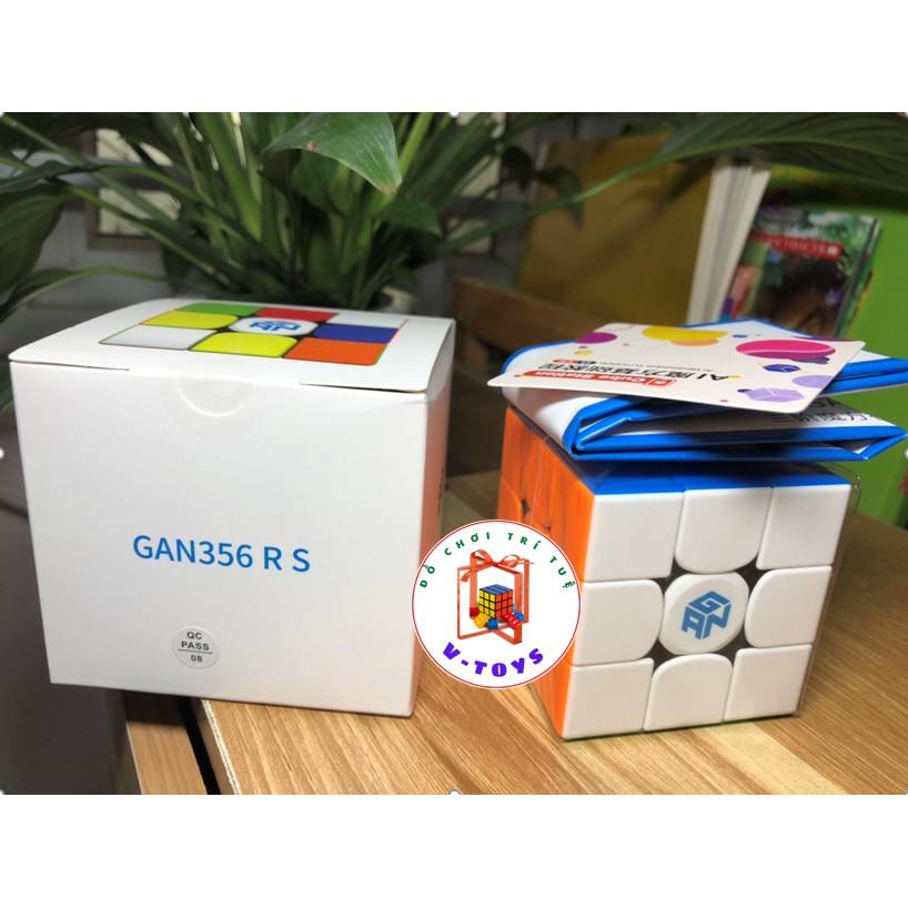 [Rubik giá rẻ] Rubik Gan 3x3 stickerless Gan 356RS