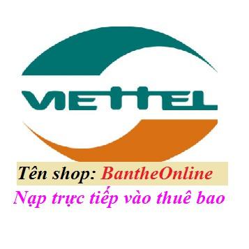 Nạp tiền Viettel - 2968493 , 530555484 , 322_530555484 , 100000 , Nap-tien-Viettel-322_530555484 , shopee.vn , Nạp tiền Viettel
