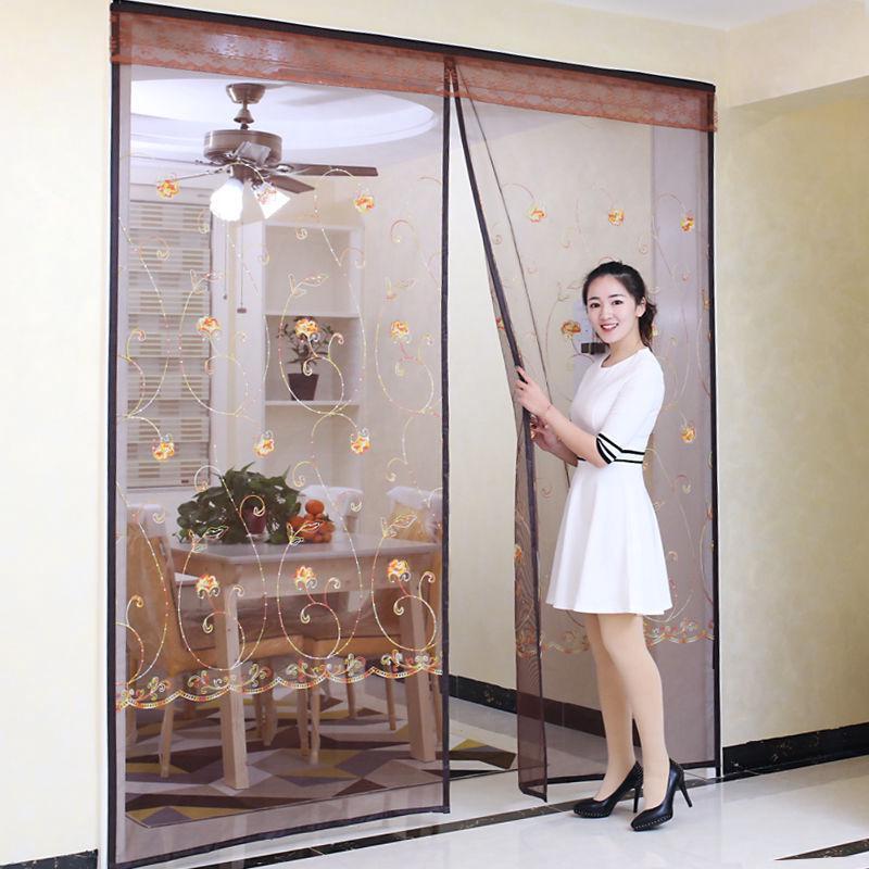 Rèm cửa chống muỗi có từ tính size lớn đơn giản tiện dụng