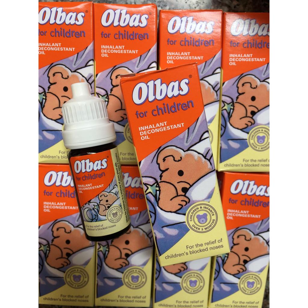 Tinh dầu xong mũi Olbas