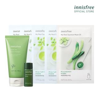 [Mã FMCGMALL giảm 8% đơn 250K] Bộ sản phẩm chăm sóc dưỡng ẩm innisfree Green Tea Set thumbnail