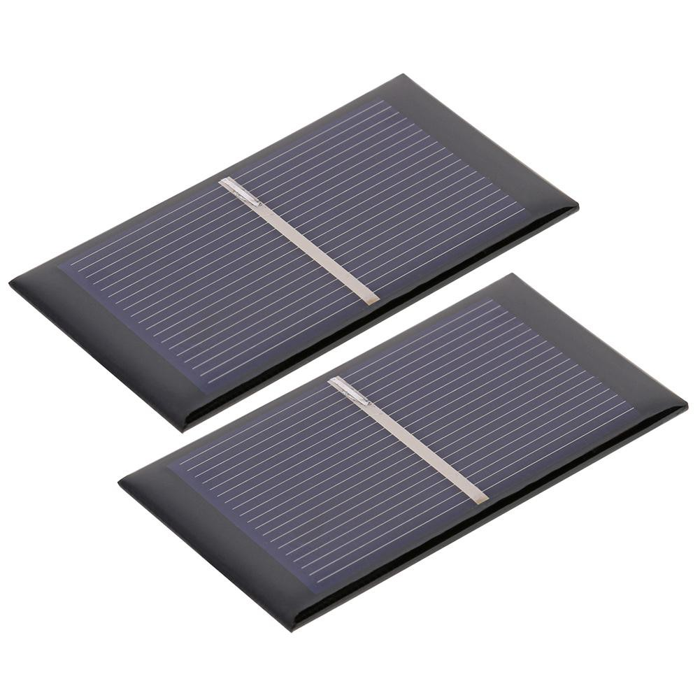 ♠0.5V 0.3W 600mA Solar Cell Module Polycrystalline Solar Panel DIY Charger