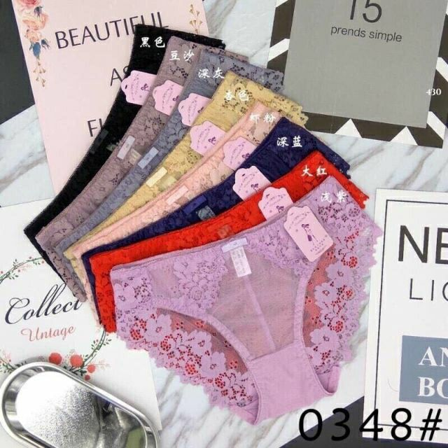 Quần lót nữ ren hoa sexy Cao Cấp Combo 10 quần | BigBuy360