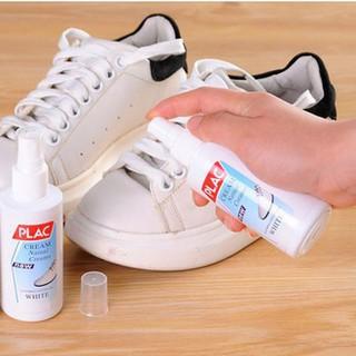 Chai xịt tẩy trắng quần áo giày dép túi xách Plac
