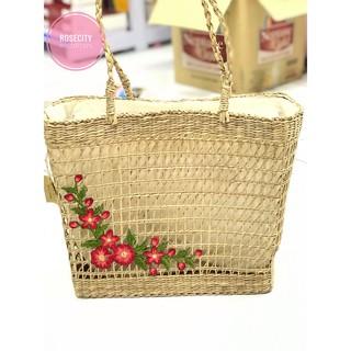 [QUÀ LƯU NIỆM] Túi Chiếu Đính Hoa Thêu handmade Rosecity Souvenir thumbnail