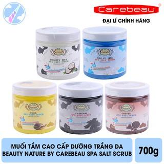 Muối Tắm Cao Cấp Beauty Nature By Carebeau Spa Salt Scrub 700g thumbnail