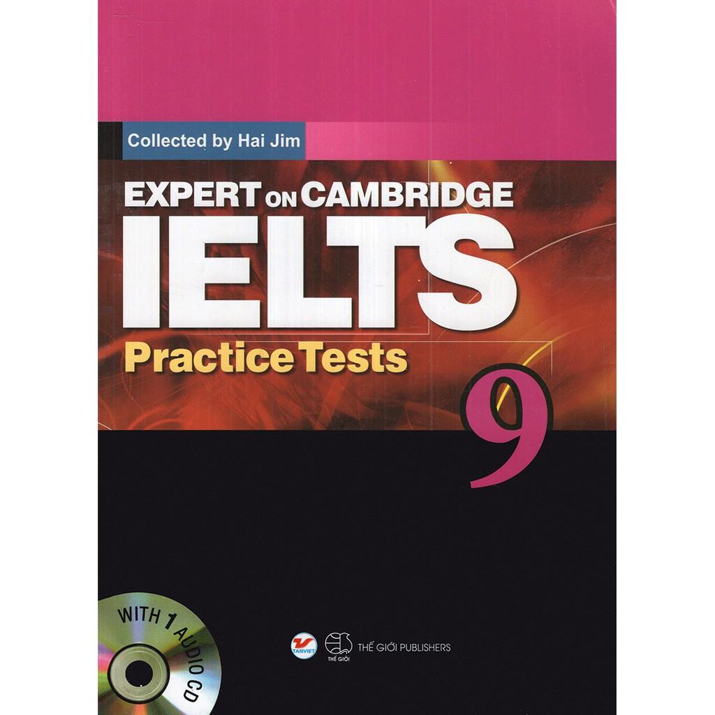 Sách - Expert On Cambridge IELTS Practice Tests 9 (Kèm CD)
