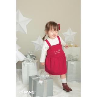 CHAANG - Váy yếm cho bé gái từ 3 tháng đến 3 tuổi
