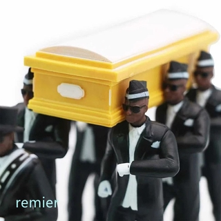 Toy Black Man Lift The Coffins Garage Kit Collection Figure for Halloween Doll Decor