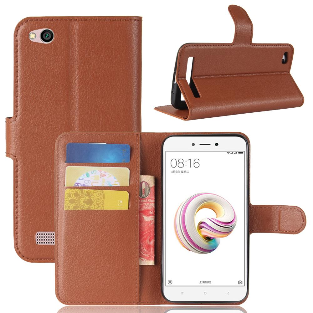 Xiaomi Redmi 3X 4X 4A 5A 6A Lxuxury Wallet PU Leather Stand Case Cover