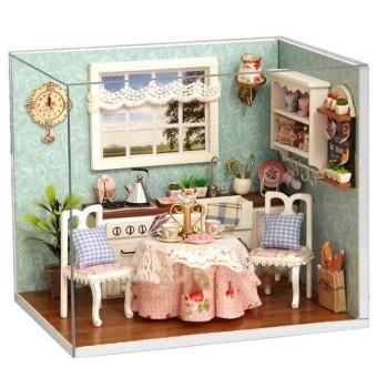 Mô hình nhà gỗ DIY- Happy kitchen