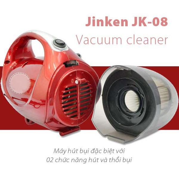 FREESHIP ĐƠN 99K_Máy hút bụi 2 Chiều Mini Vacuum Cleaner JK-8 đỏ