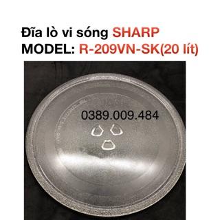 Đĩa lò vi sóng SHARP R-209VN-SK (20 lít) thumbnail