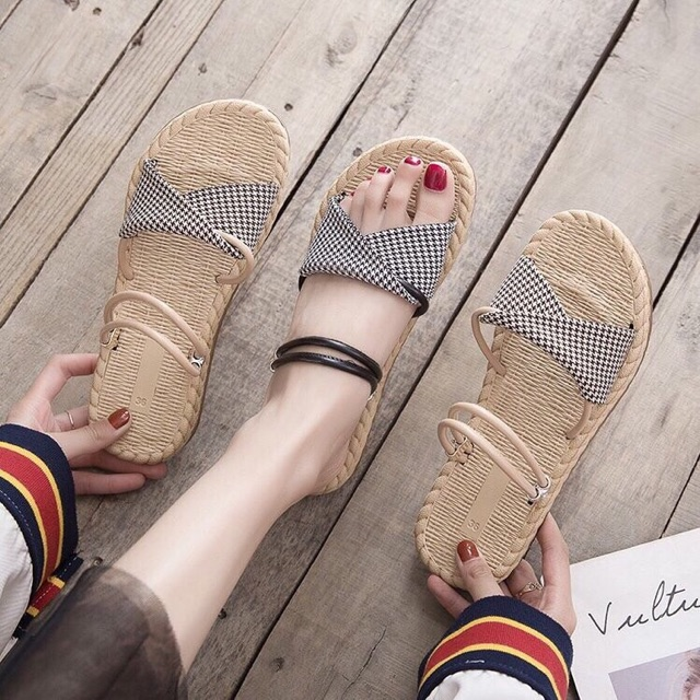 Sandal cói hot