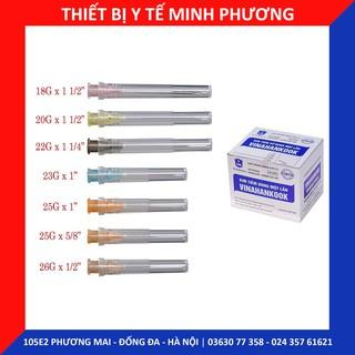 [Bán lẻ 10 chiếc] Đầu kim lấy thuốc Vinahankook 18G 20G 23G 25G 26G thumbnail