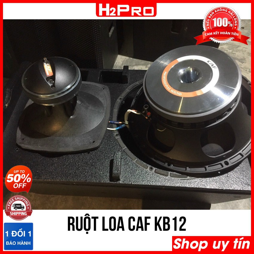 Đôi loa karaoke CAF KB12 bass 30 1000W, hàng nhập | Loa karaoke gia đình ( tặng 2 khẩu neutrick 99k )