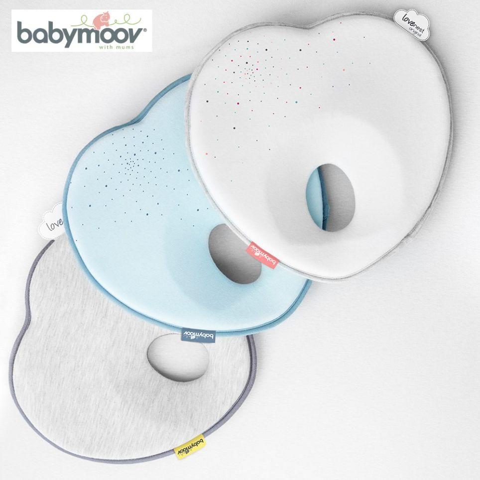 [Mã MKBCFS10 giảm 5% đơn bất kỳ] Gối Trái Tim Chống Bẹt Đầu Babymoov Cho Bé