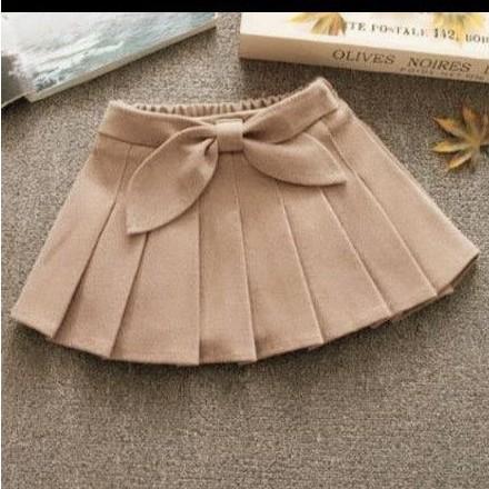 chân váy xếp ly bé gái - cv001