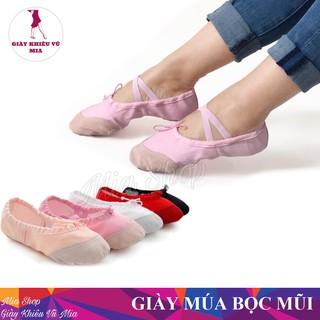 Giày Múa Ba Lê Mềm Mại [Size 34 -> 44]