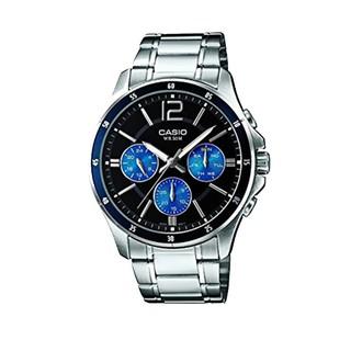 [Mã FARSBR153 giảm 15% đơn 150K] Đồng hồ nam dây kim loại Casio MTP-1374D-2AVDF chính hãng