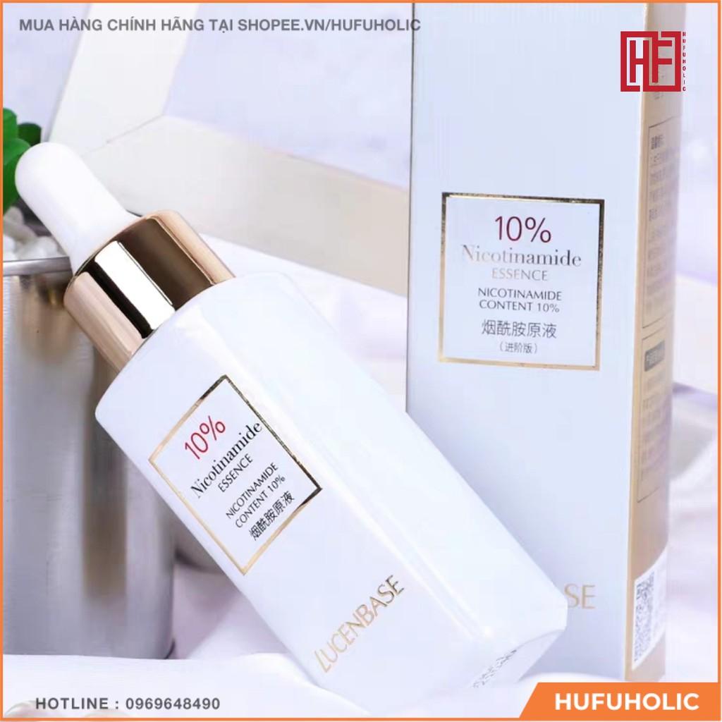 LUCENBASE – Tinh chất Nicotinamide Essence 3% 5% 10%phục hồi trắng da se lỗ chân lông cân bằng da