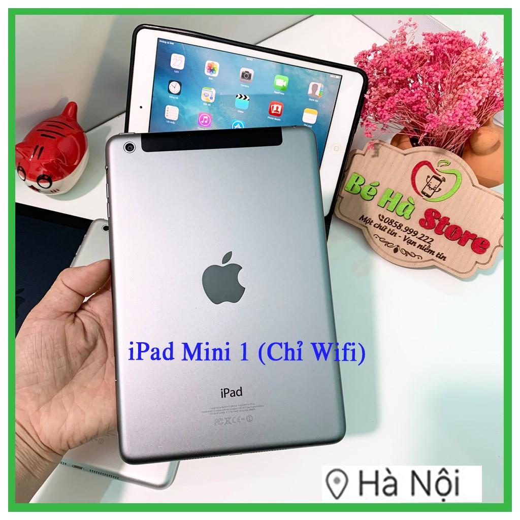 Máy Tính Bảng IPad Mini -16Gb Wifi Quốc tế Zin Đẹp 99 Như MỚi (BH 6 tháng)