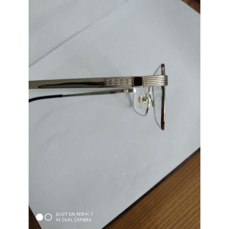 Gọng kính Cartier titanium mạ 23k của pháp 8201043