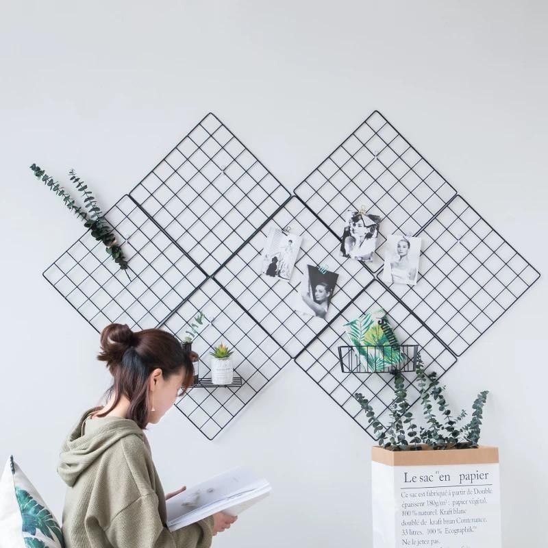 KHUNG LƯỚI DECOR TRANG TRÍ PHÒNG NGỦ SIÊU XINH 35x35 và 35x45