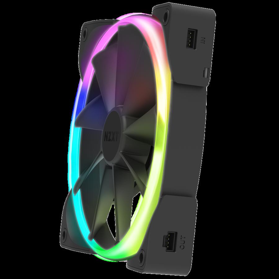 [Mã 267ELSALE hoàn 7% đơn 300K] QUẠT NZXT AER RGB 2 SERIES 140MM SINGLE