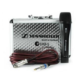 Micro karaoke Sennheiser E838ii dòng mic có dây với độ dài dây 5m - mic dây dẻo độ bền cao