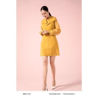 Đầm dạ vàng lông cừu cổ liền Elise thumbnail