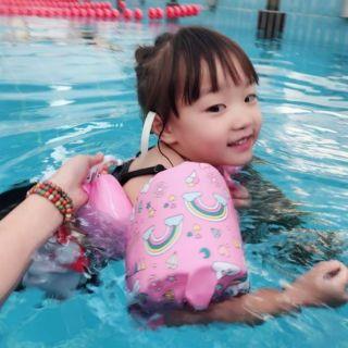 Áo phao bơi nâng ngực có phao tay cho bé
