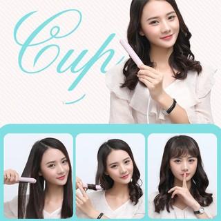 Máy uốn duỗi ép tóc mini Make Time 2 in 1 cho nam nữ hình thú cute youngcityshop 30.000 thumbnail