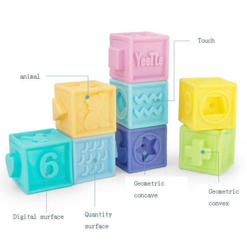Bộ đồ chơi cho bé Nhật Bản BDC1610 Fun Soft 10 chi tiết (Đạt chuẩn an toàn bé) - Home...