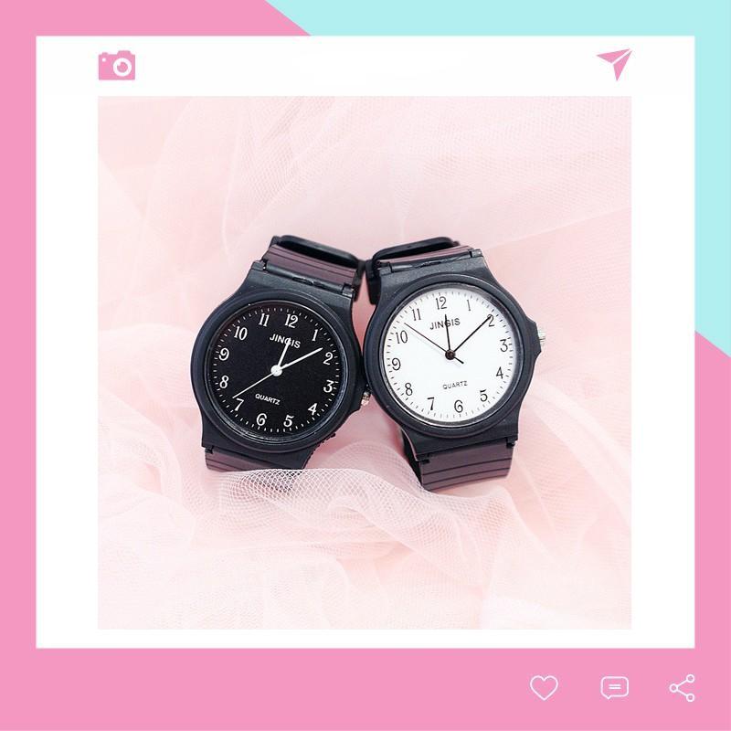 Đồng hồ thời trang nam nữ phong cách Hàn Quốc siêu đẹp DH83