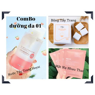 COMBO Dưỡng Da 01 - Bộ Bao Gồm 3 Sản Phầm - HAVU Beauty