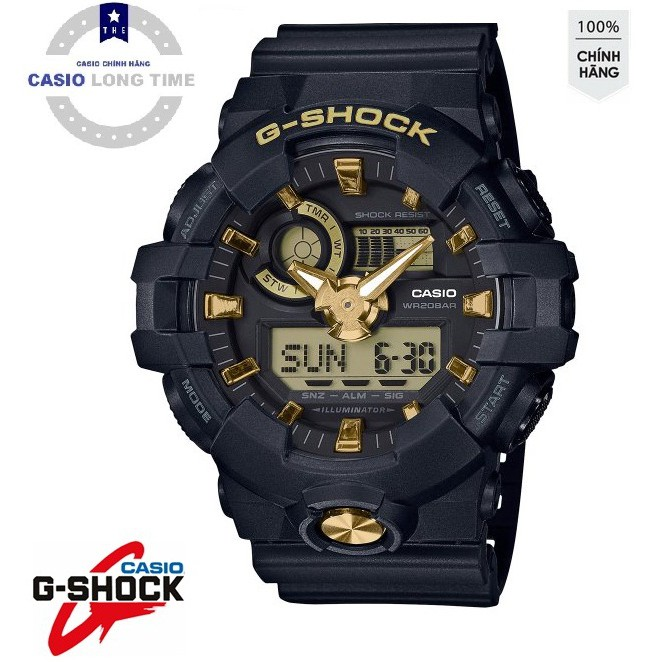 Đồng hồ nam Casio G-SHOCK GA-710B-1A9 PHIÊN BẢN ĐẶC BIỆT - Chống nước 200m bảo hành