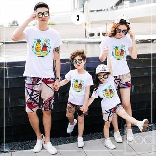 Hot áo thun gia đình - Áo đôi - Áo đơn- Áo nhóm Áo đôi