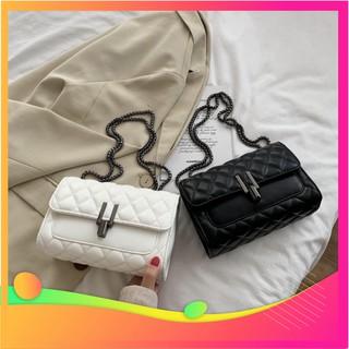 Túi xách nữ đeo chéo khóa chữ Y chất da xịn thời trang nữ tính TX10 túi đeo chéo
