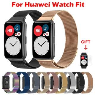 Dây Đeo Inox Milanese Cho Đồng Hồ Thông Minh Huawei Watch Fit