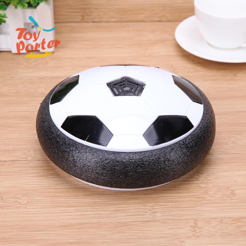 💞Soccer Ball Air Cushion Floating Football with LED Light Music Gliding Toys💞